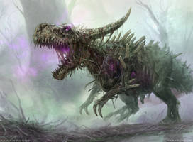 Rotting Regisaur by VargasNi