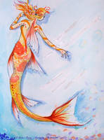 Koi Mermaid by Nina-Rose-Mangaka