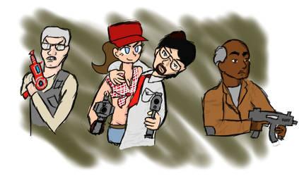 Black Ops 2 Zombie's Cast