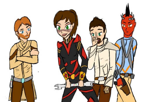 Young swtor characters