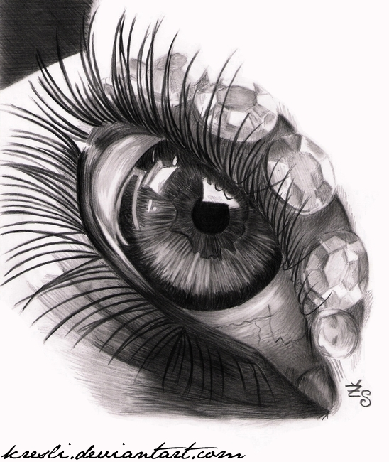 Eye practice V. by Kresli