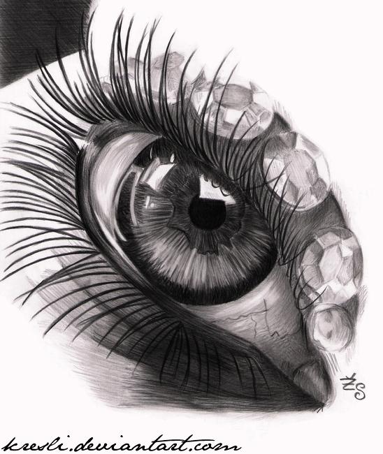 Eye practice V. by Kresli