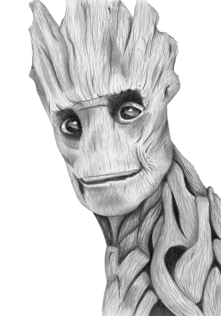 I Am Groot by Kresli