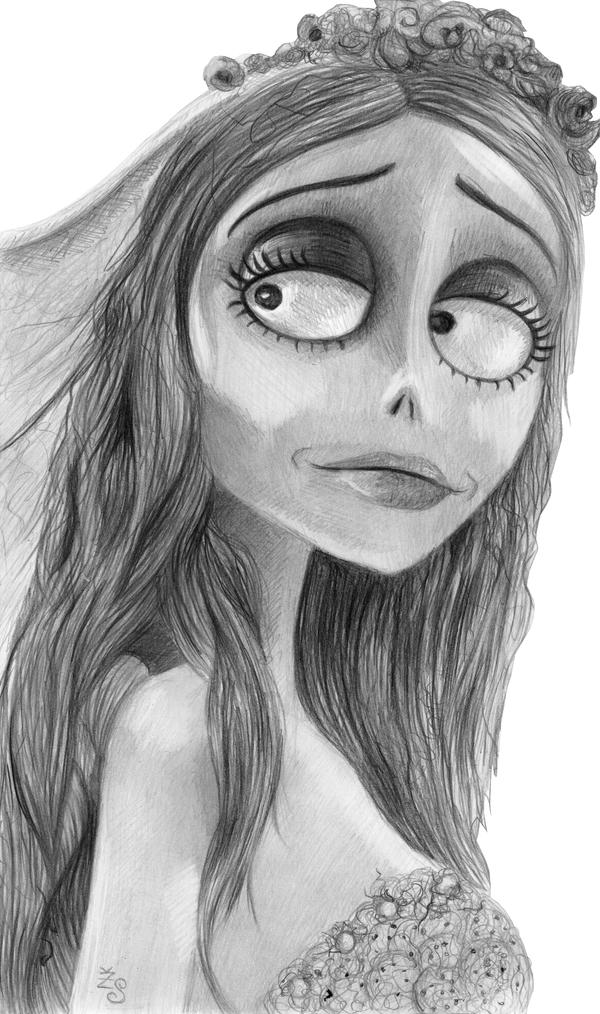 Emily The Corpse Bride by Kresli