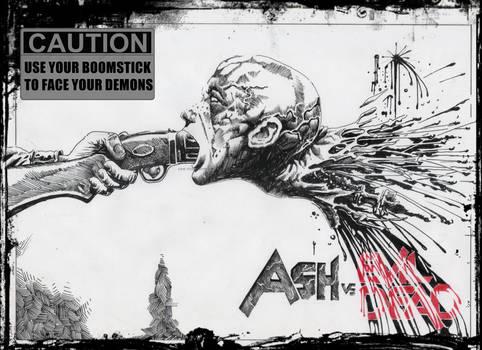 Ash vs Evil Dead fan art