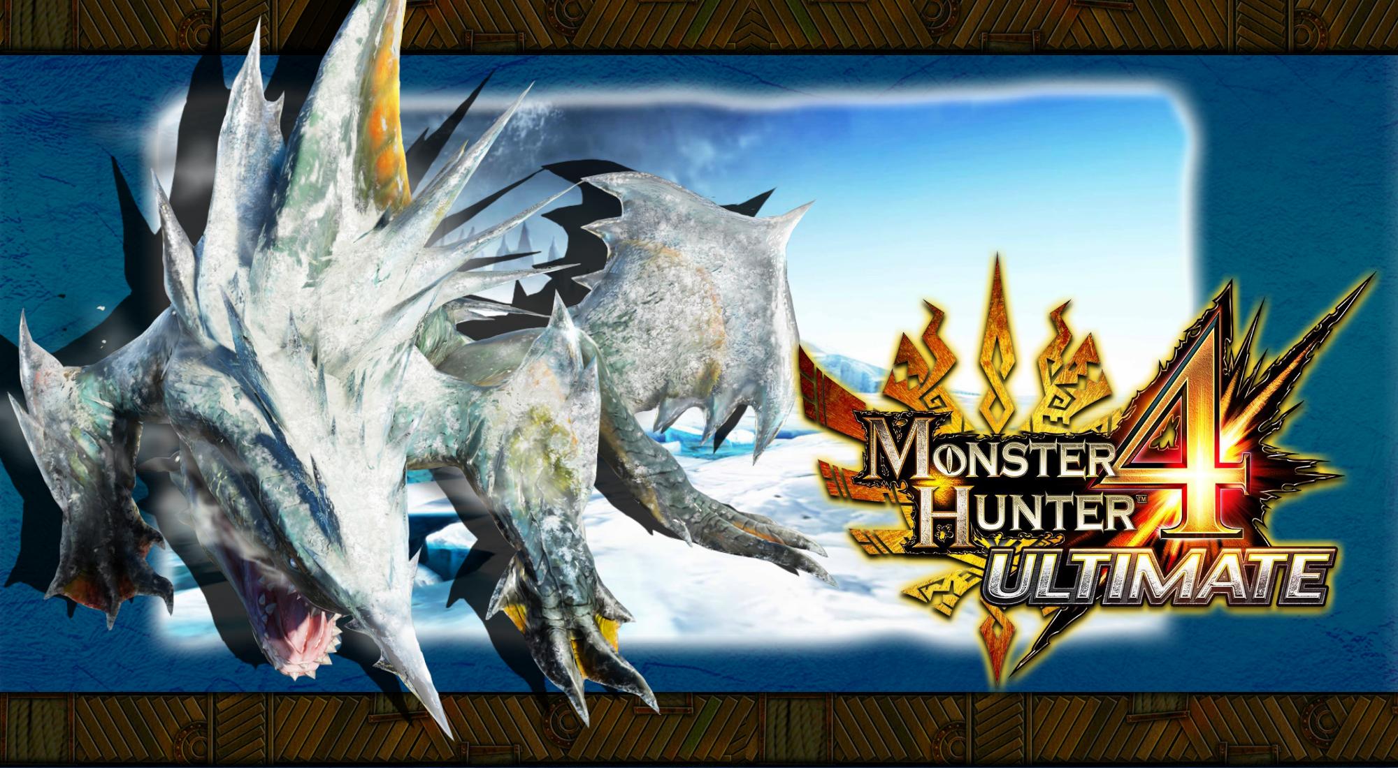 Monster Hunter 4 Ultimate Zamtrios Wallpaper By Dakidgaming On