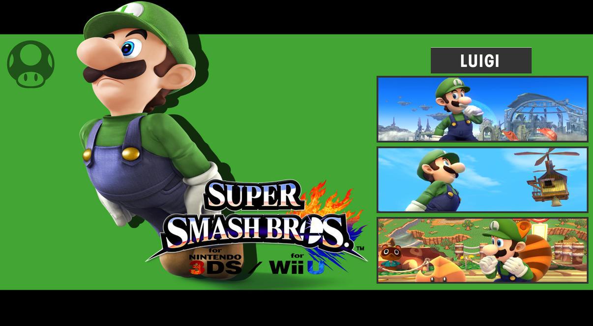 Super Smash Bros 3DS Wii U