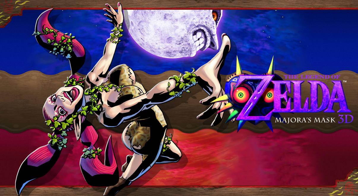 Majoras Mask 3d Wallpaper Great Fairy By Dakidgaming On Deviantart
