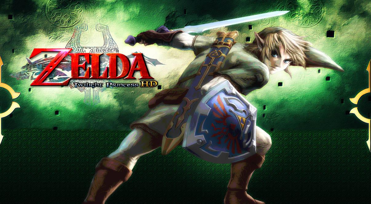 Zelda Twilight Princess Hd Link Wallpaper By Dakidgaming