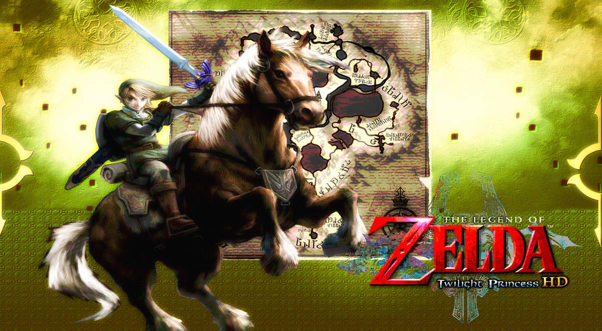 Zelda Twilight Princess Hd Epona Wallpaper By Dakidgaming On