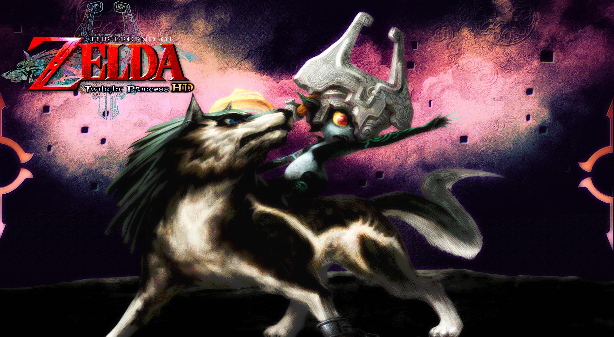 Zelda Twilight Princess Hd Wolf Link Wallpaper By Dakidgaming