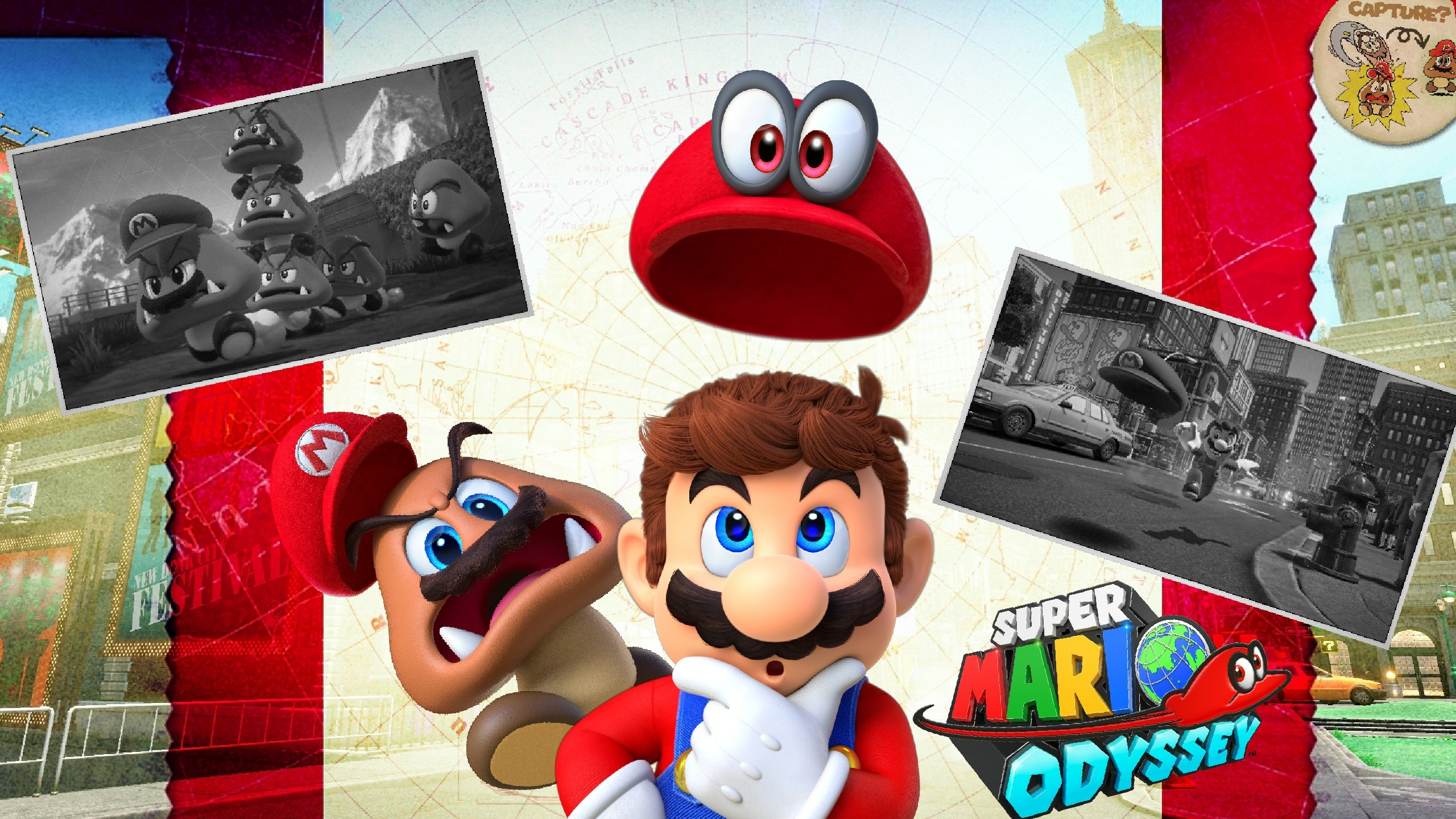 Super Mario Odyssey Wallpaper 2 By Dakidgaming On Deviantart