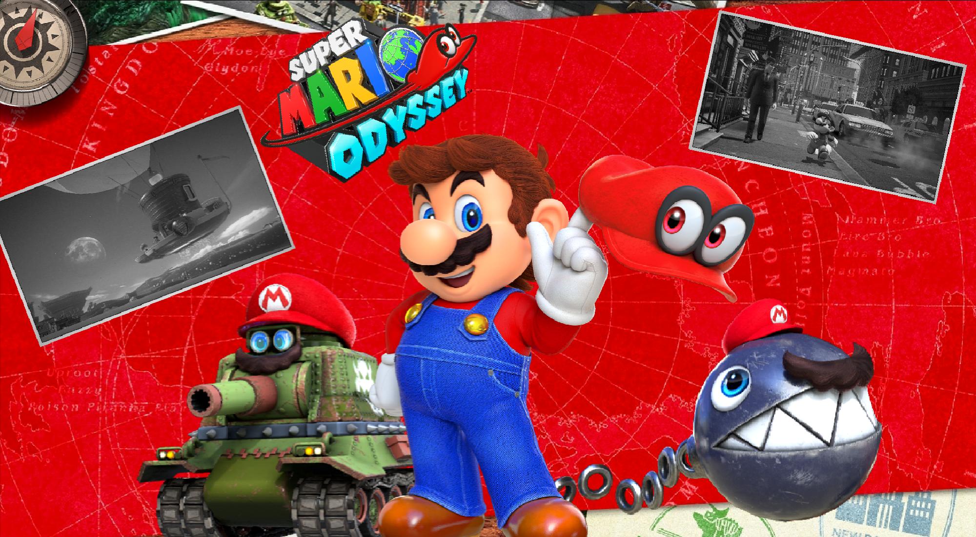 Super Mario Odyssey Wallpaper 3 By Dakidgaming On Deviantart