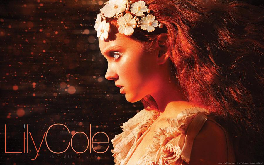Kindling Spirit - Lily Cole by elementj