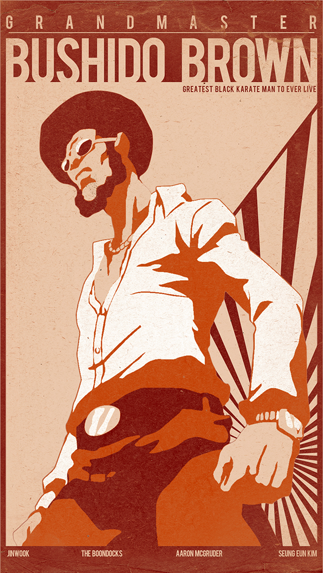 Grandmaster Bushido Brown by elementj