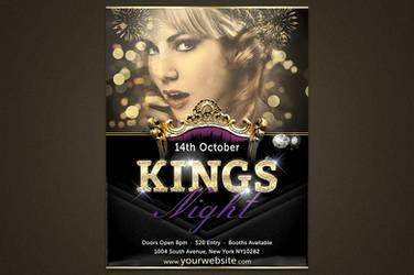 Kings Night ( Template ) by elementj