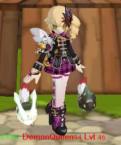 Lvl 46 DemonQueen94 (Elsword Eve CN) by TOBISCOOL4