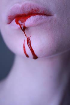 blood lips 1 stock