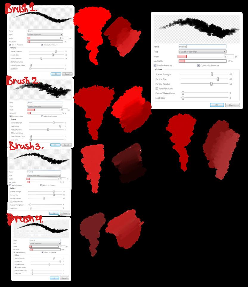 Brush Settings By Ilikeyoursensitivity On Deviantart - Www