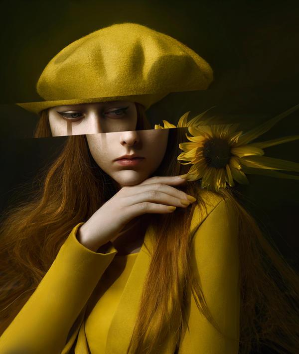 Summer Glitch by MuseInBlack