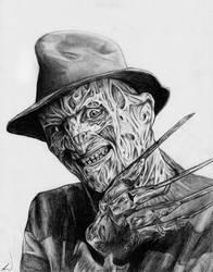Freddy Krueger by Jackolyn