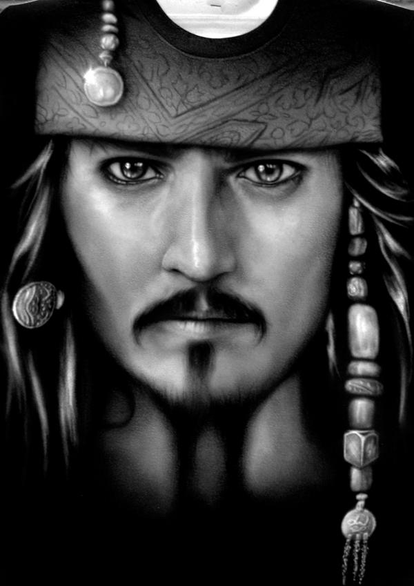 Captain Jack Sparrow by Jackolyn