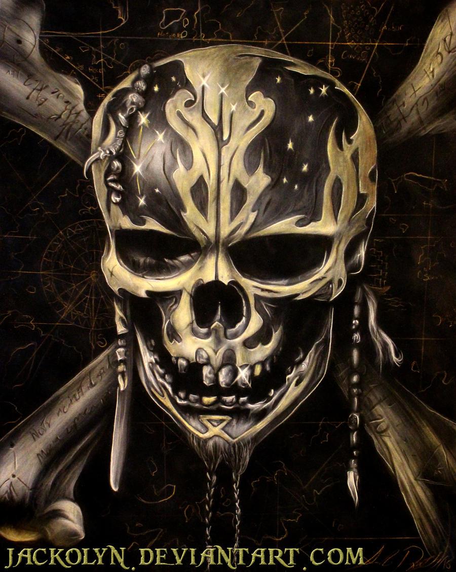 Dead Men Tell No Tales - Airbrush by Jackolyn