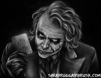 Joker Card by Jackolyn
