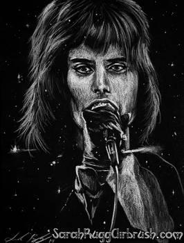 Freddie Mercury - Drawing