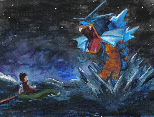 Gyarados by supersonikku