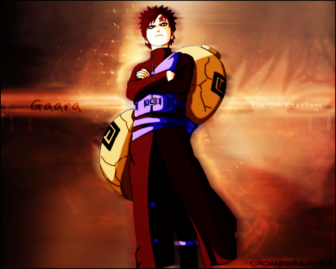 Gaara Wallpaper by alextakacs10 on DeviantArt