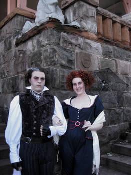 Mrs Lovett and Sweeney