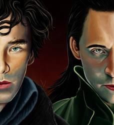 Loki - Sherlock by usarechan