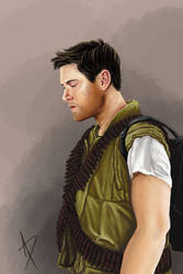 Soldier Dean for DCBB 2017 - Moonshadow by usarechan
