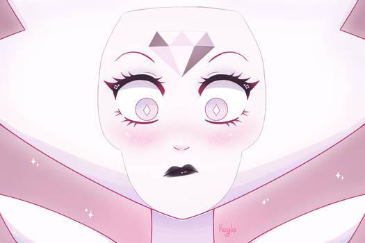 White diamond by Kayla-Lune