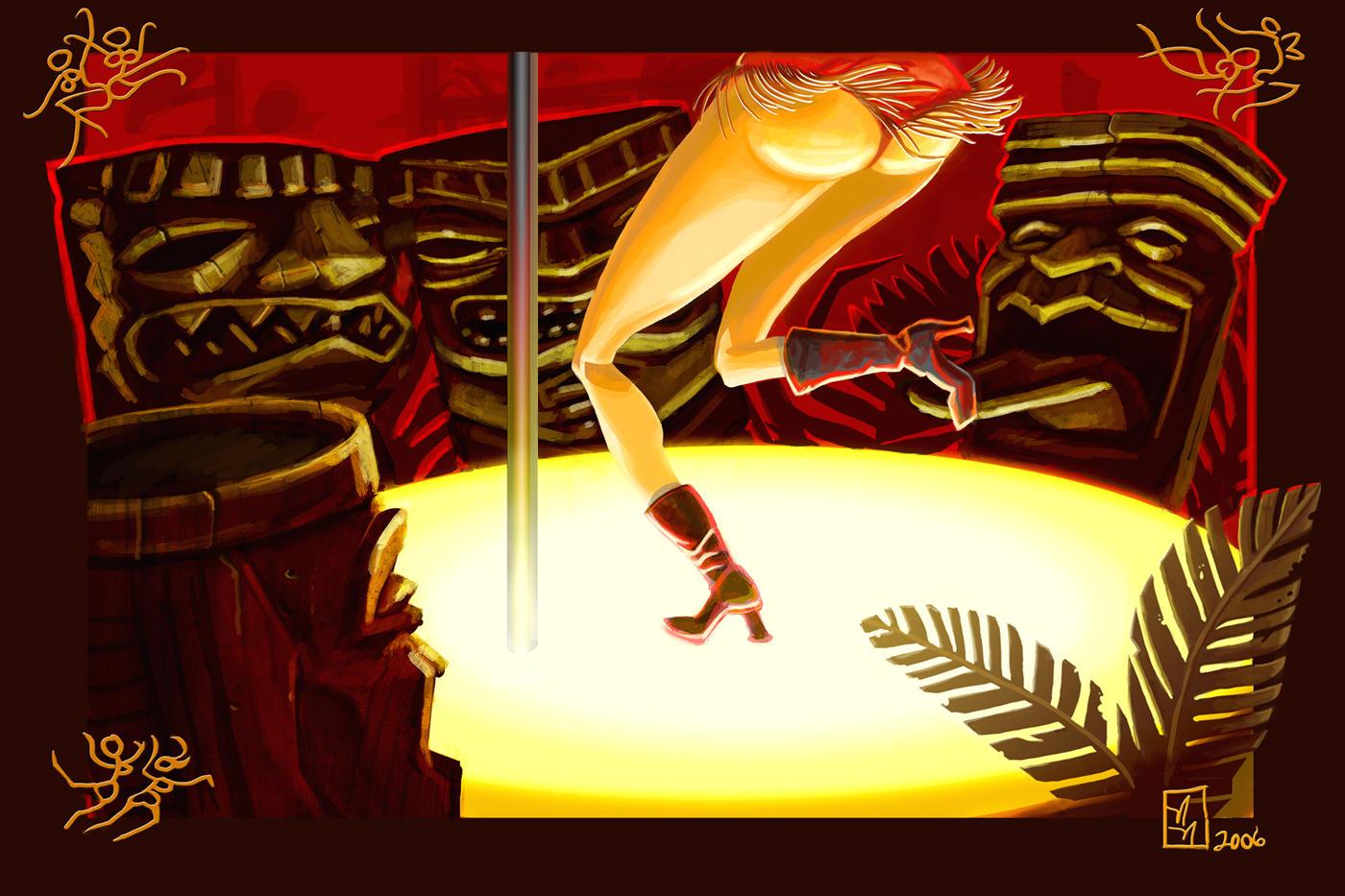 Tiki a go-go by artqueen23