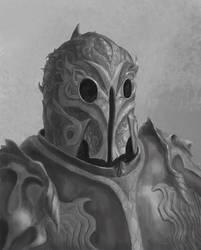 Armor portrait