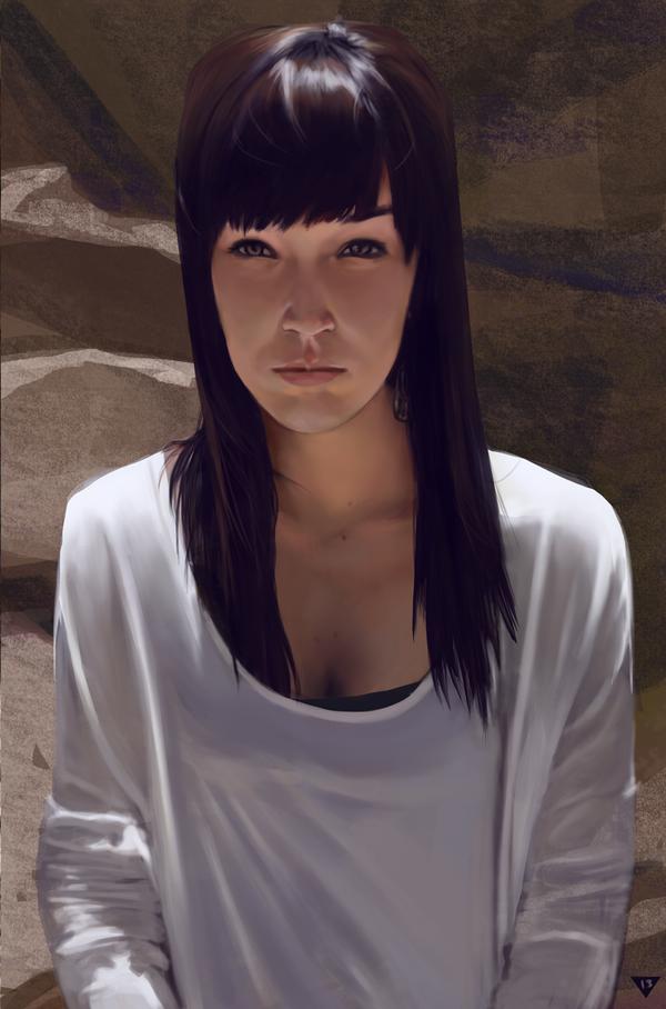 Jackie Study by mattgamer