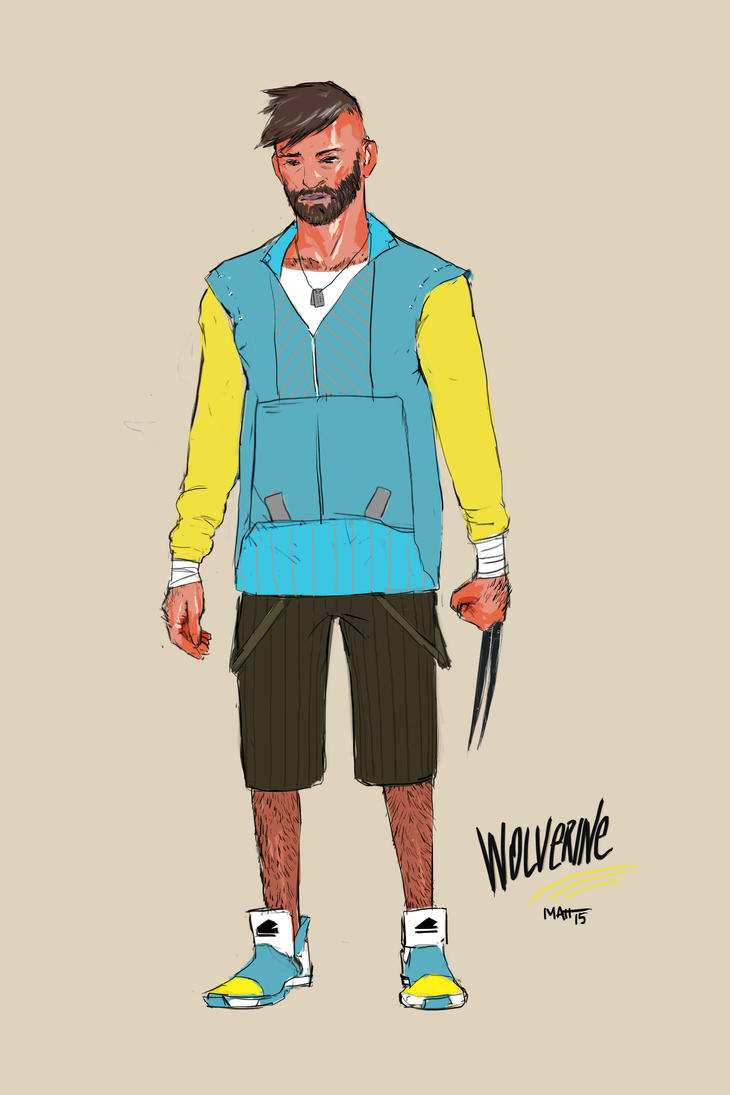Wolverine // Character Redesign by mattgamer