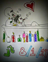 Love Tub  JT 8/1/19 by Jtforever