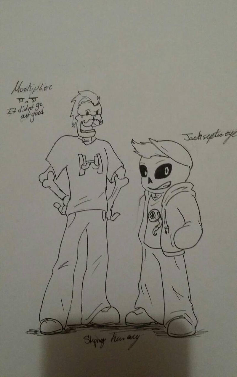 Mark and Jack undertale by stephanieshadowmarie