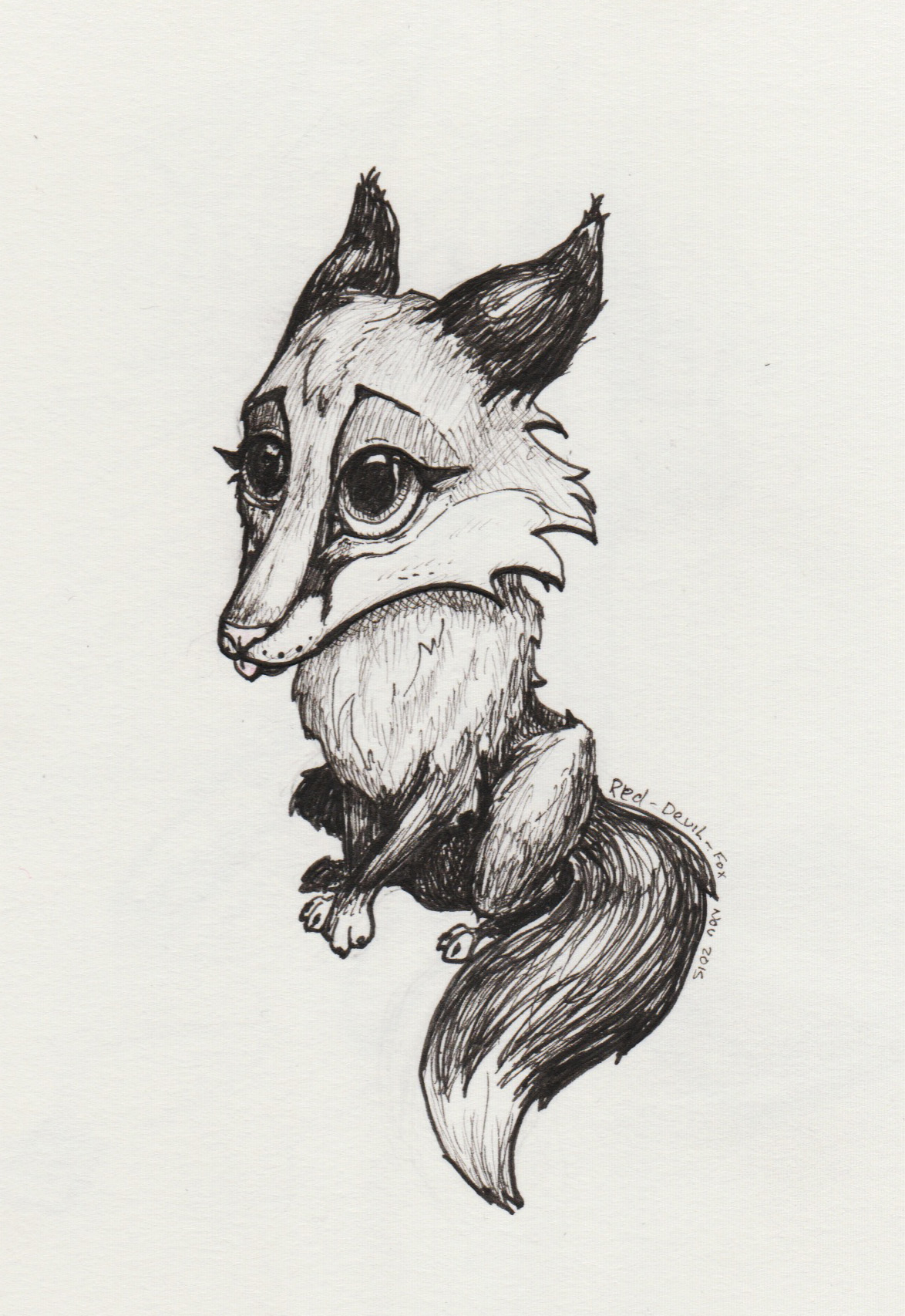 Foxie by Red-Devil-Fox