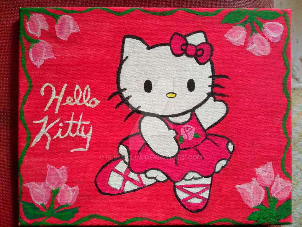 Most Inspiring Wallpaper Hello Kitty Painting - hello_kitty_painting_by_reinavilla-d6zuoxh  2018_644964.jpg