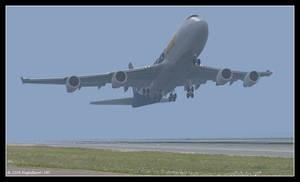 Foggy Takeoff