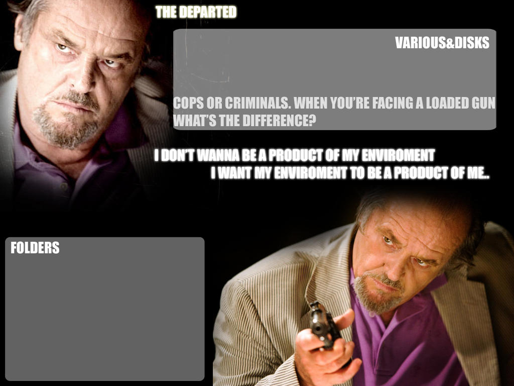The Departed Wallpaper by WKLIZE on DeviantArt