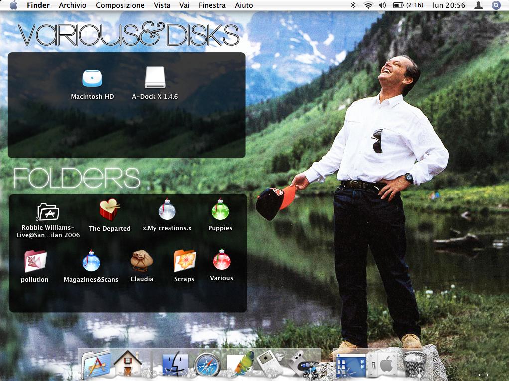 Jack Nicholson Desktop Update by WKLIZE