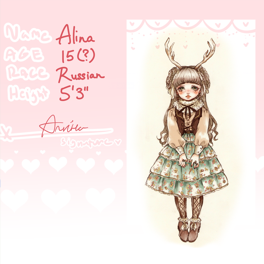 Alina Appie by oOCassieOo