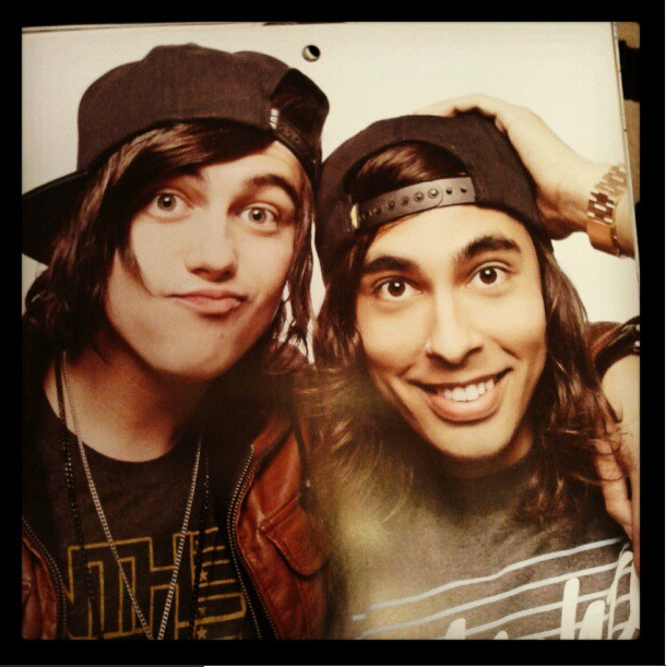 kellin quinn and vic fuentes by comeatmepeasants on deviantart