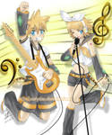 Rin and Len Rock n Roll