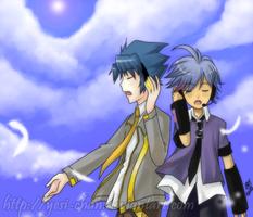 UTAU Kenta and Danilo by yesi-chan